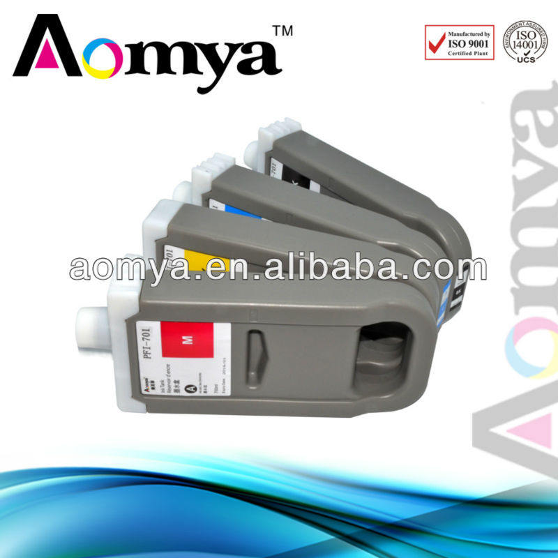 Big volume Compatible PFI701 ink cartridge for canon ipf8000