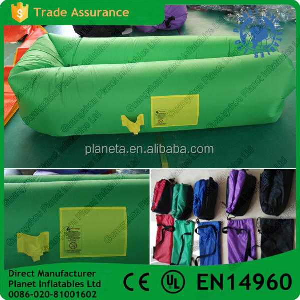 Hot Sale New Design Inflatable Air Lounge Sofa Sleeping Bag For Sale