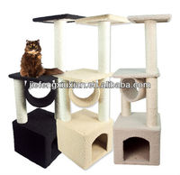 New Cat Tree Level Condo Furniture Scratching Post Pet House Scratcher