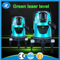 Multi-line automatic laser marking pointer self-leveling green laser level