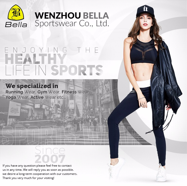 Wholesale long sleeve tops sports wear costumes slim fit yoga shirts women