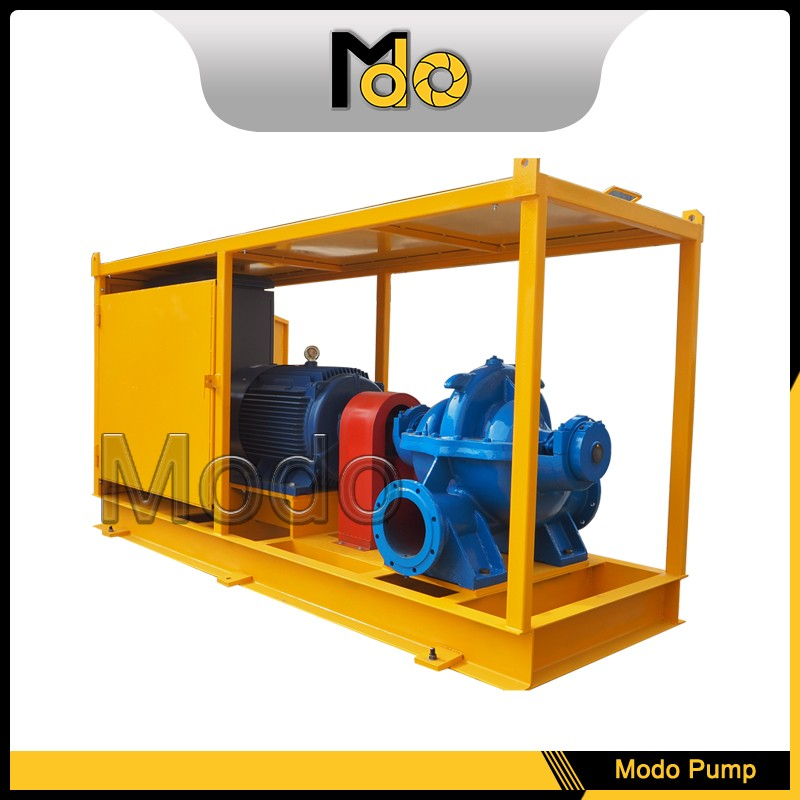 Tractor centrifugal end suction volute pump for irrigation