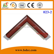 Wood color ps frame moldings and photo picture frames
