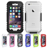 Waterproof Sealed Hard Case Cover for Apple iPhone 6/6 Plus