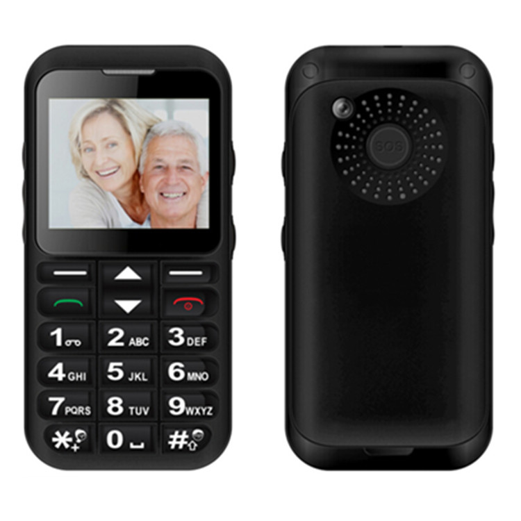 Hot-selling W82 2.2 Inch Gsm Quad Band Dual Sim High Quality Cherry Mobile Senior Citizen Phone
