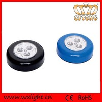 CE & ROHS China Button Switch Battery LED Cabinet Light