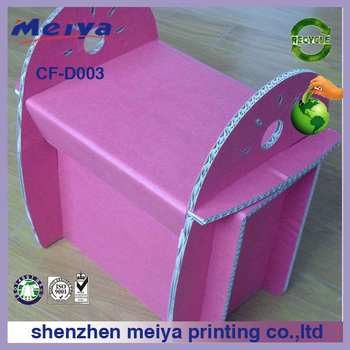 cardboard table and chair, Corrugated paper desk,baby room furniture
