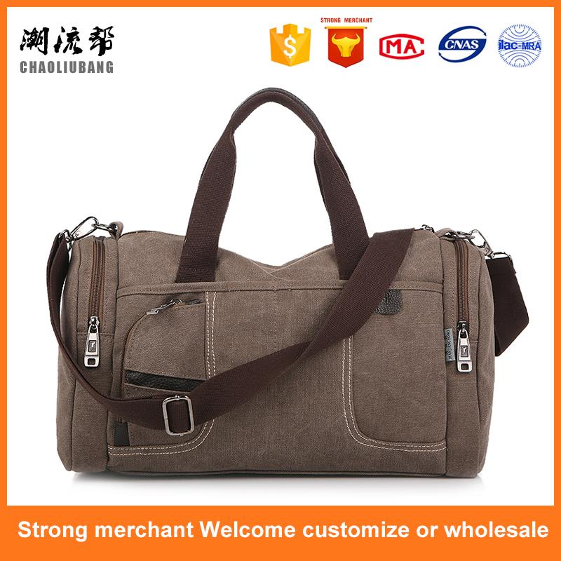 Hot selling canvas adjustable strap sling bags travel cross body bag