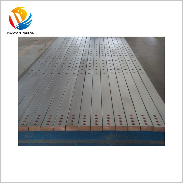Discount professional titanium clad copper plate bar for sale