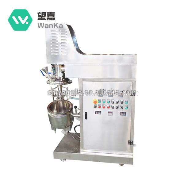 WKZ-10 Chemical Hydraulic Emulsifying Mixer For Cosmetics With Professional Design