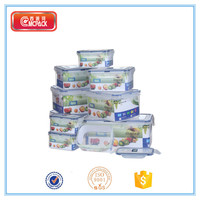 sealable,bpa-free plastic food storage container
