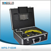 CCTV Sewer Drain Pipe Inspection Camera System with Video DVR