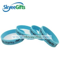 Silicone Bracelet Rubber Silicone Bracelets With