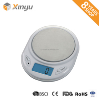 china round lightweight electronic digital pocket jewelry scale