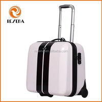 Custom color lightweight kids carry on luggage, waterproof hard shell kids suitcases for travel