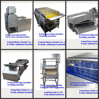 Fruits and vegetables processing machine