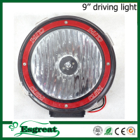 Best quality 9'' 35w 55w 75w 12v 24v hid off road driving light auto lamp