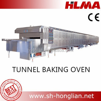 bread factory equipment,industrial tunnel baking oven
