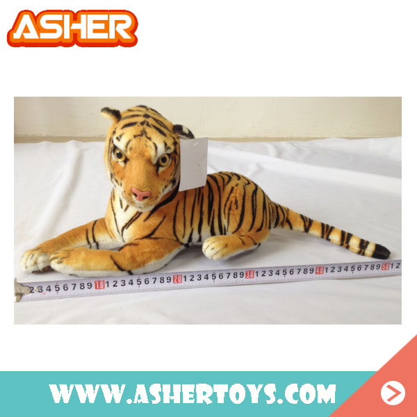 wholesale animal tiger cutting of soft toys custom stuffed plush toy