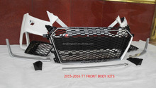 Front Bumper for Audi TT 2015-2016 the Latest Model TT Body Kits