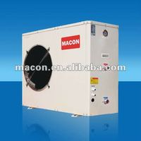 Macon air to water heat pump, low power air conditioner