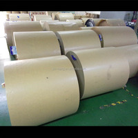 High quality brown butcher paper roll with pe coated kraft paper by factory price