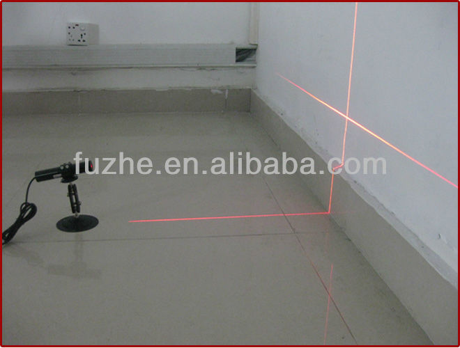 FU63511C10-BD22 10mW Cross Line Laser 635nm