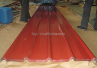 galvanized galvalume color coated corrugated roofing sheet