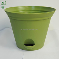 Plastic Self Watering Container Gardening Flower Pot