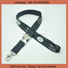 Promotional China wholesale custom printed sublimation polyester custom single lanyard