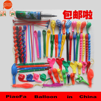 30cm promotion super rocket balloon assorted