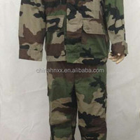 Durable Army Camouflage Uniform Ripstop Twill