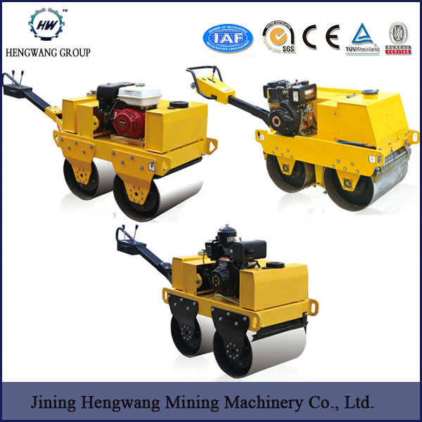 Construction Machinery Honda Engine 4ton vibro compactor road roller heavy equip