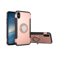 Newest Luxury 360 Degree Rotating Bracket Rugged Phone Case Cover For APPLE iPhone X Phone Case