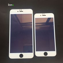 China supplier new premium Anti reflection anti radiation full covered tempered glass screen protector film for apple ipone 6