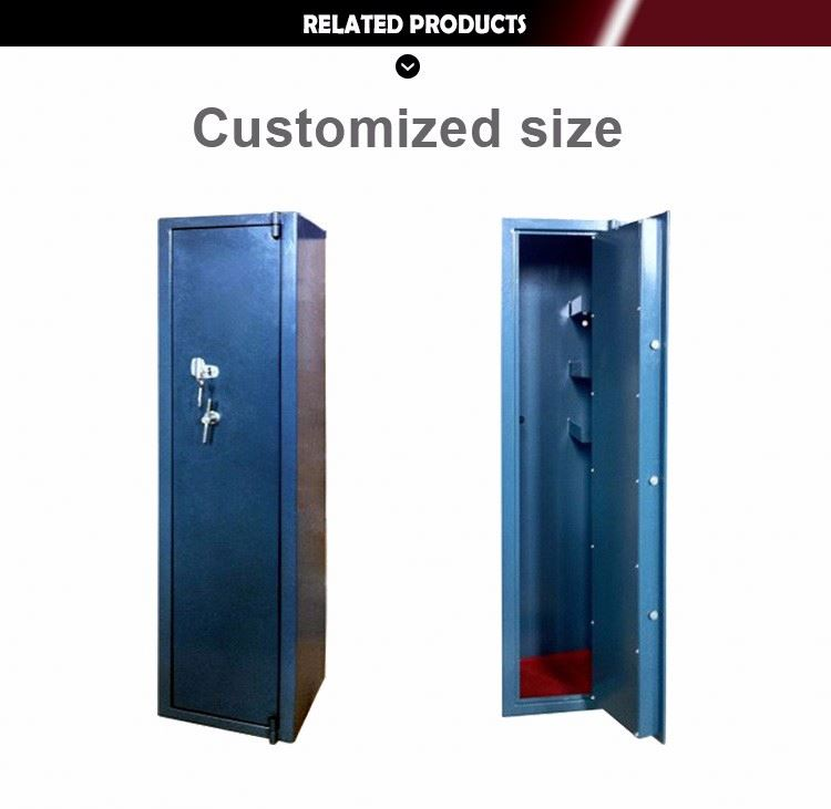 customized residential gun safe of fingerpint unlock in bank