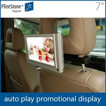 7 inch android taxi car headrest monitor