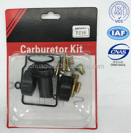 supply cheap price carburetor repair kits for PZ16 CD70 carburetor kits