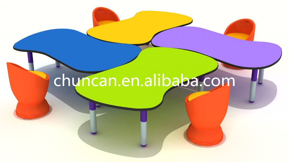 kids hpl study table furniture