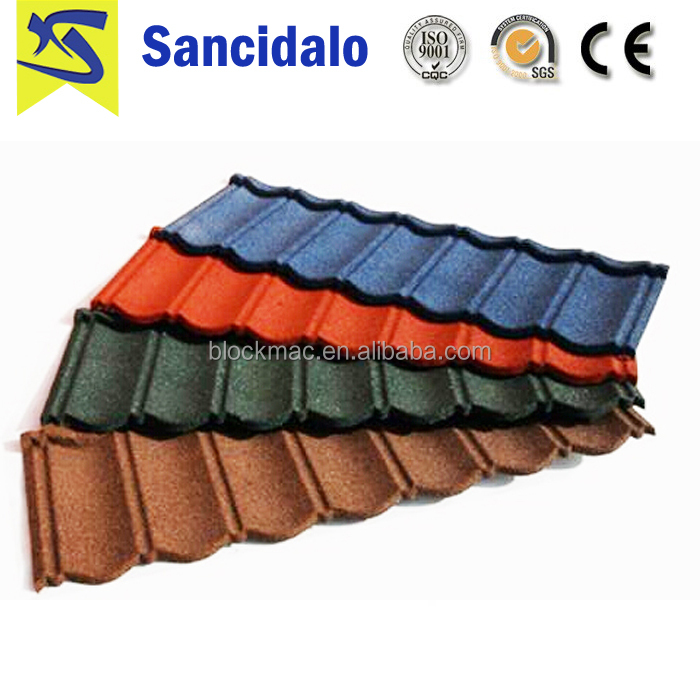 Free sample light weight roof tile