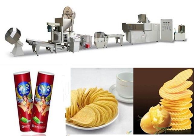 Flavoured Crisps/Potato Chips Production Machinery