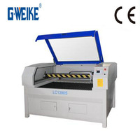 small compact sealed co2 laser tube 60w 80w laser cutting machine for paper wood acrylic fabric