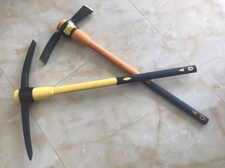pickaxe types high quality weeding hoe mini garden pickaxe