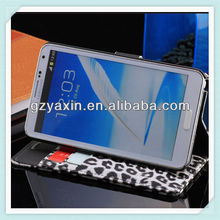 Stylish leopard flip leather case,Leopard leather case for samsung s3,Leather flip case for samsung