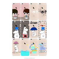 Custom Design Wallet Cartoon Character Animal TPU Soft Cover Cell Phone Case for Apple iPhone 7 iPhone 6 6s plus case
