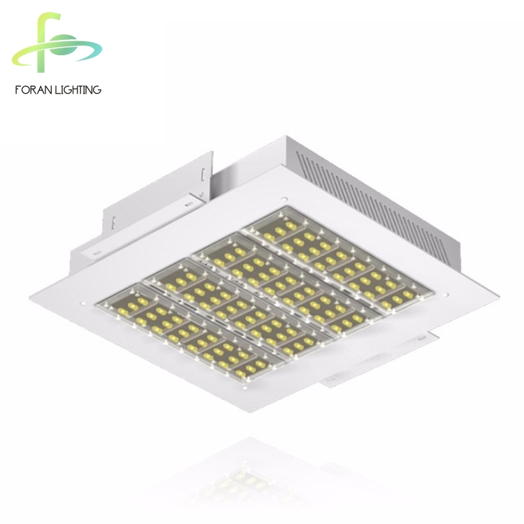 13000lm High Lumen IP65 Waterproof LED Outdoor Gas station Shell Station LED Lighting Gas Station LED Canopy Light 100W
