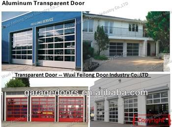 Transaprent Doors -- Preferred choice of Visibility and light transmission