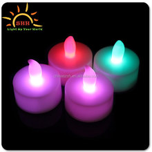 christmas ornaments led christmas tree candle light, battery operated flameless tea light candle led