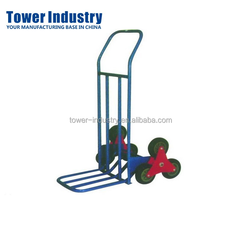 OEM Six Wheel Hand Trolley for Climbing Stairs