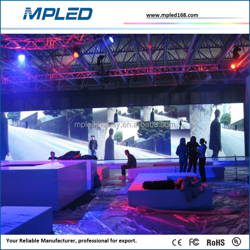 Pop up easy installation SMD2121 indoor rental led panel Nichia led chip from Japan for indoor HD video wall